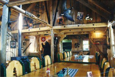 Interior of the Lodge